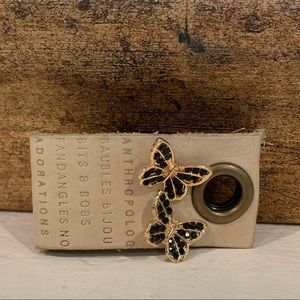 Anthropologie Butterfly Stud Earrings! Brand New!